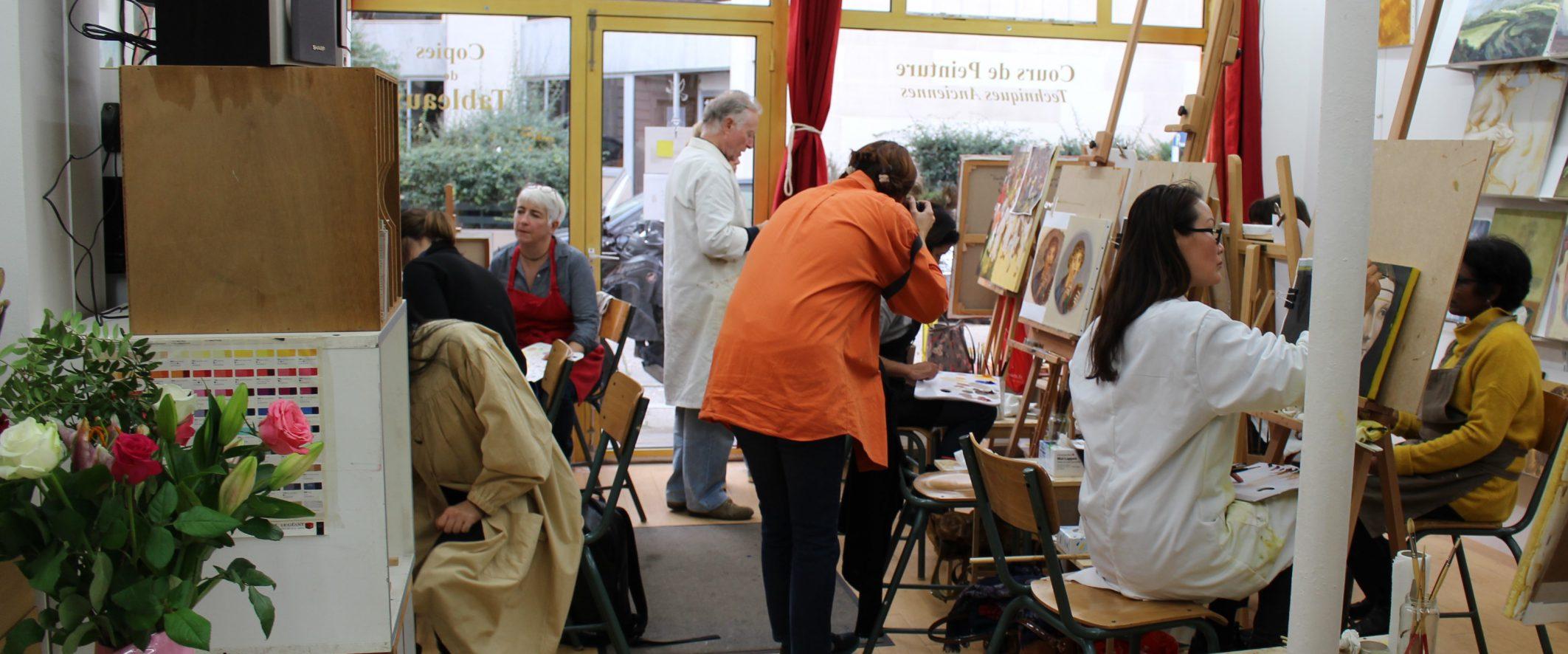 cours de peinture à paris | atelier baroque paris