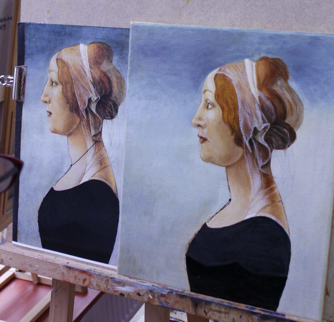 stage peinture paris