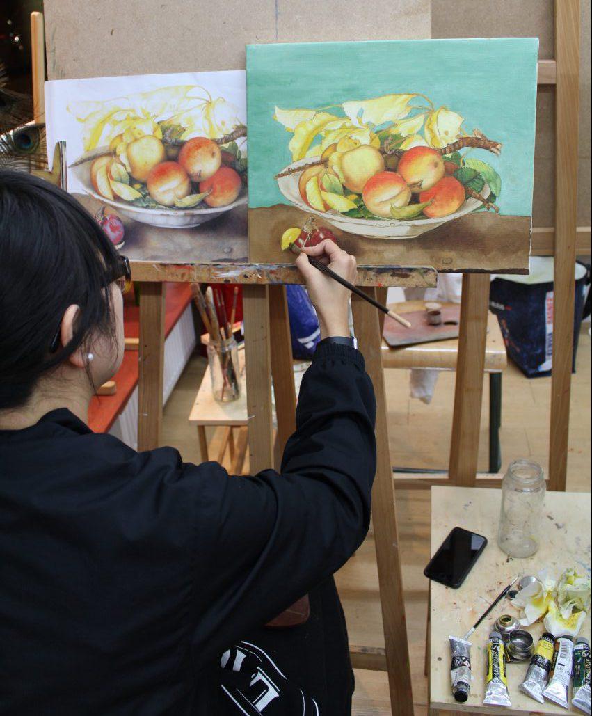 cours peinture paris, cours de peinture à paris | atelier baroque paris