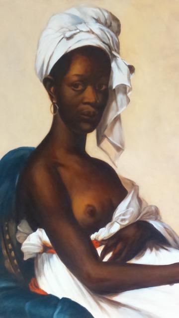 Cours peinture paris - Huile sur bois - Geneviève Sallet | cours de peinture paris