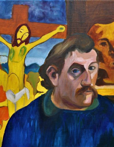 Huile sur toile - Ralda Azar d'après Gauguin | cours peinture paris