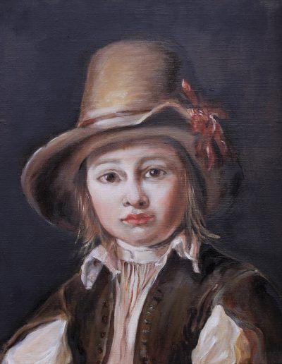 Huile sur bois - Valérie Bellier  cours peinture paris