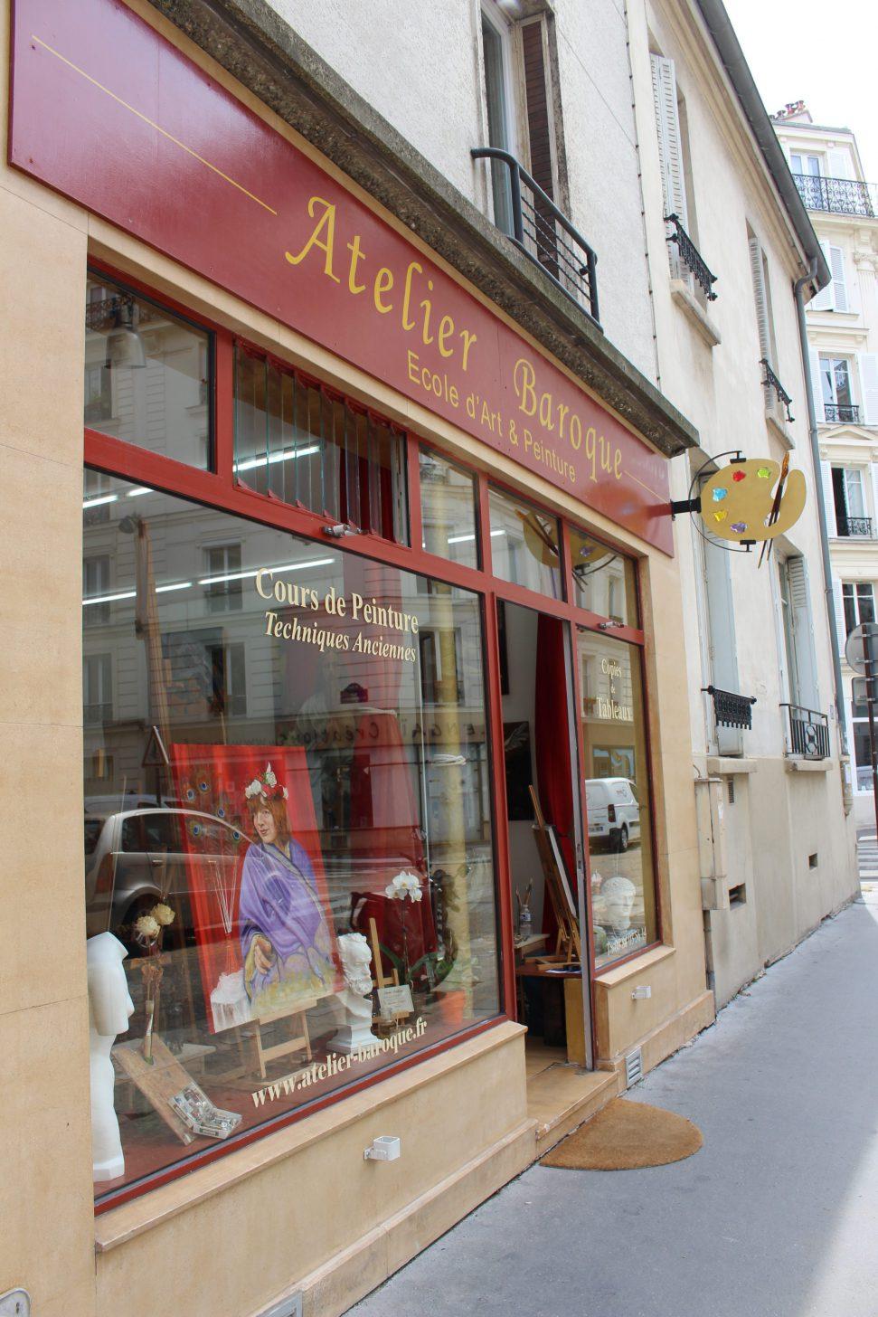 Atelier Baroque Paris   painting classes paris   cours peinture paris