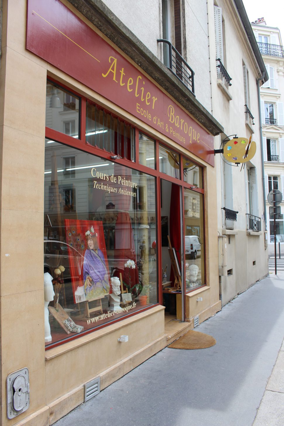 cours de painture paris, cours peinture paris, cours de peinture à paris, stage peinture paris, atelier baroque