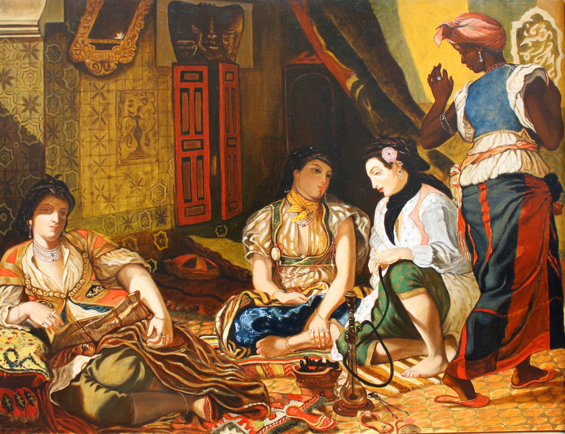 Copie de tableau sur commande | Delacroix