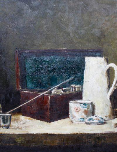 Huiles sur toile d'après Chardin [ stage peinture paris | painting workshop paris