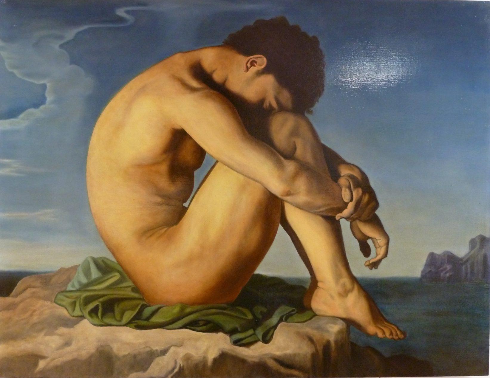 Copie de tableau | Hyppolyte Flandrin | Alexandra Astorquiza | Atelier Baroque Paris