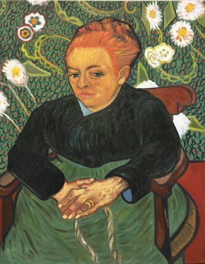 Huile sur toile d'après Van Gogh par Yeesak | stage peinture paris | painting workshop paris