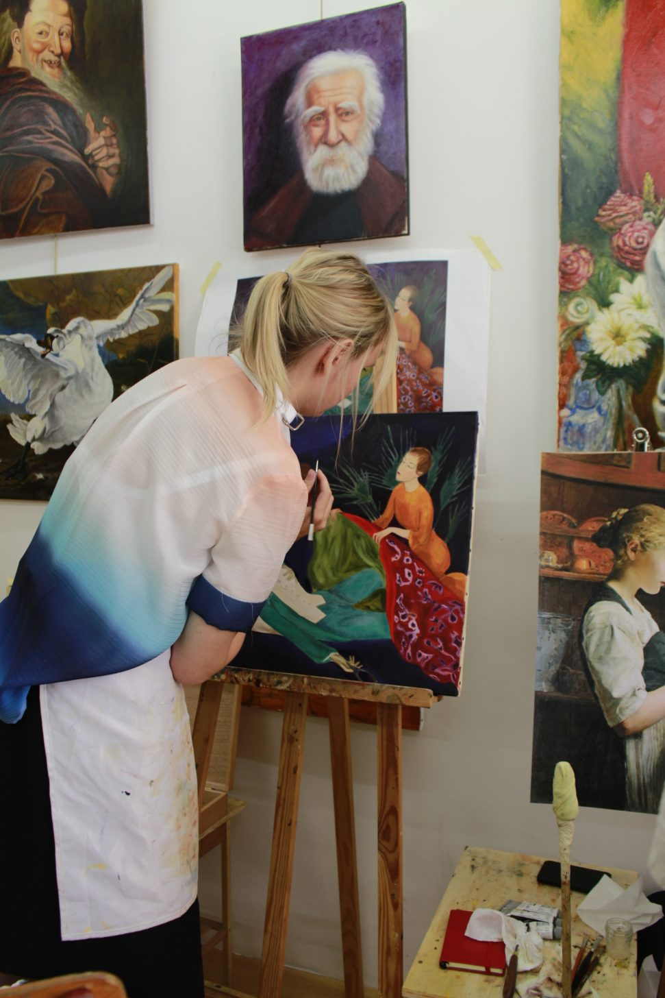 painting classes paris, oil painting classes paris