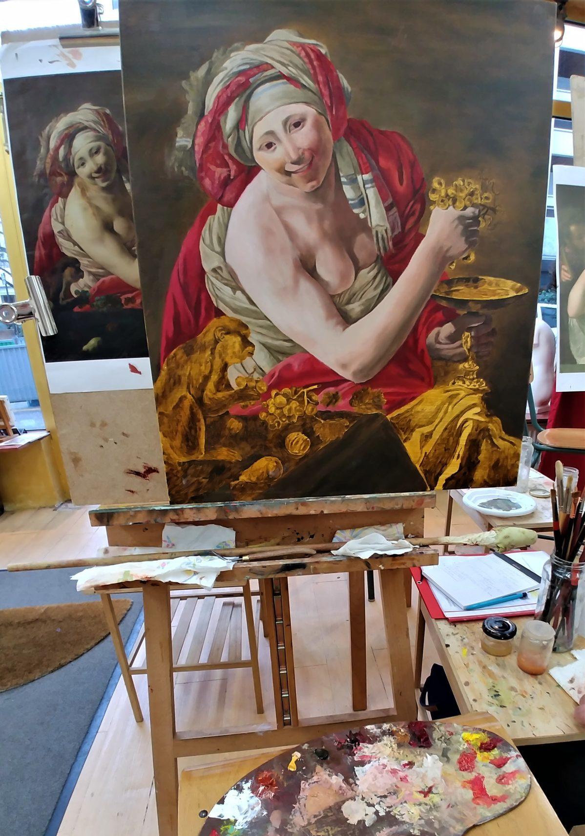 Painting classes in paris