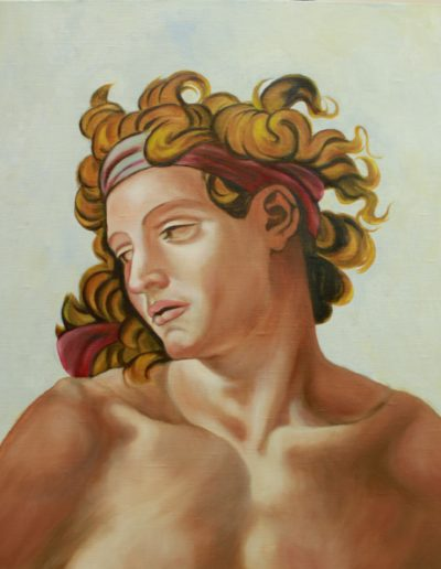 cours de peinture - Michelange - atelier baroque