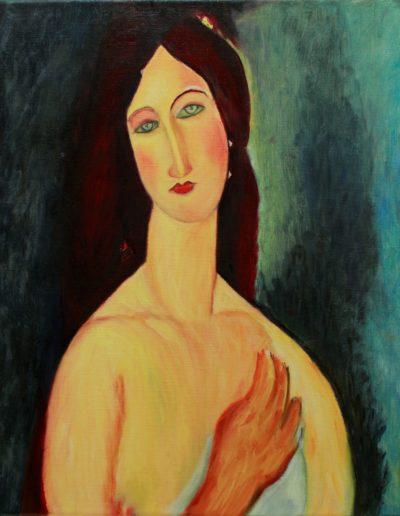 cours de peinture - Modigliani - atelier baroque