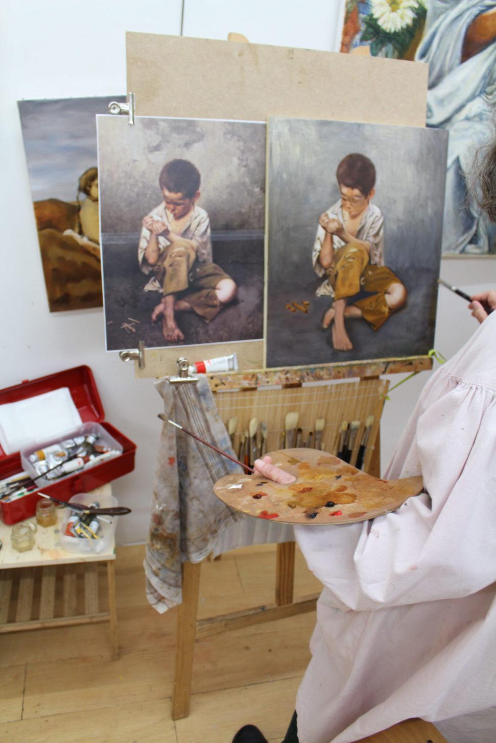 cours de peinture paris, cours peinture paris, cours de peinture à paris