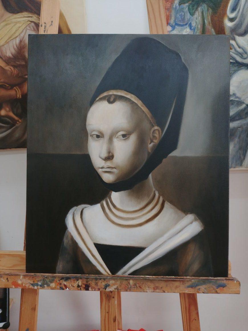 cours peinture paris, cours copie tableau, cours de peinture à paris