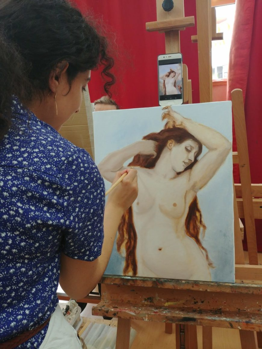 cours de peinture paris, painting workshop paris, painting classes paris