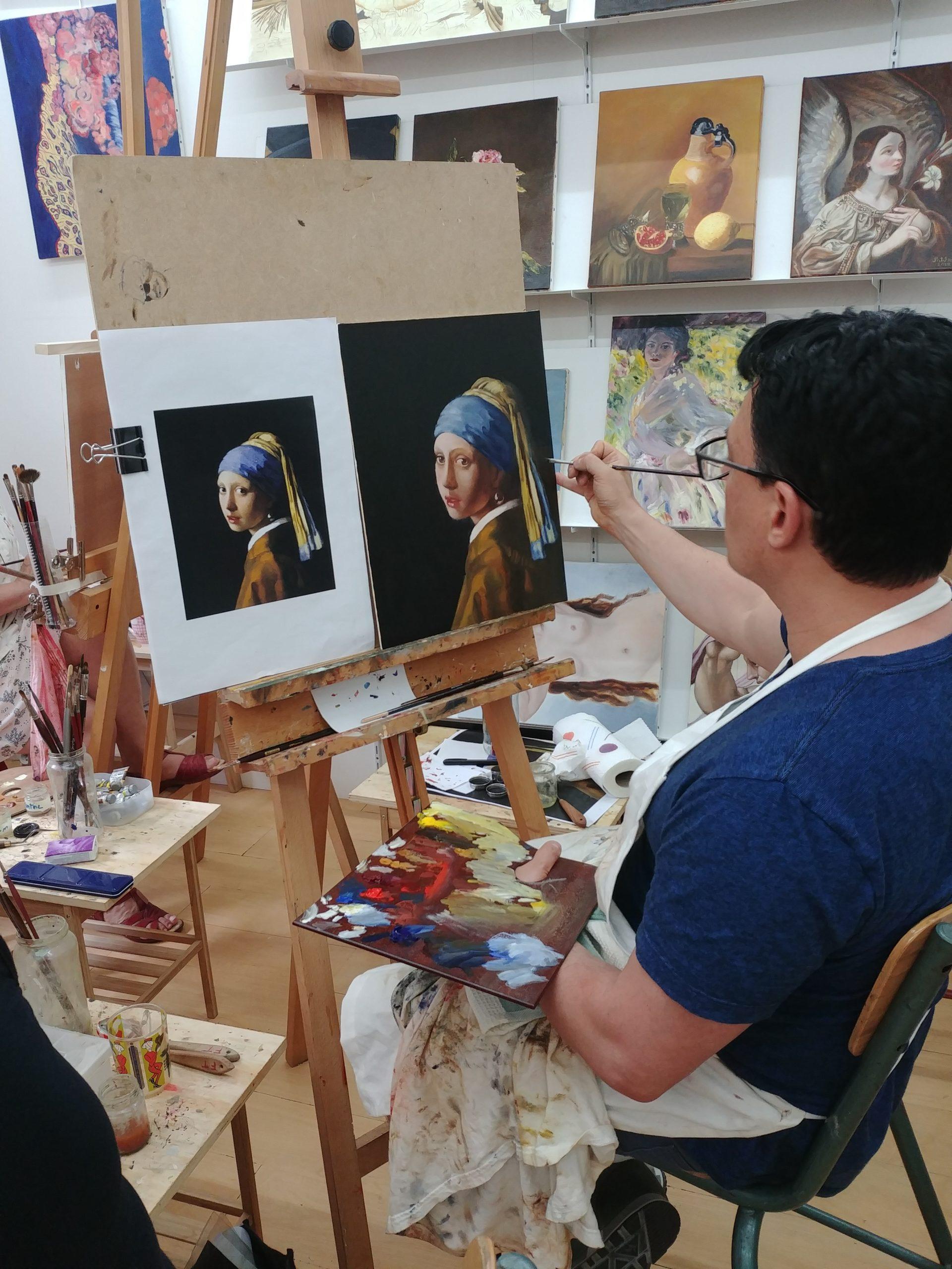 stages peinture paris | atelier baroque