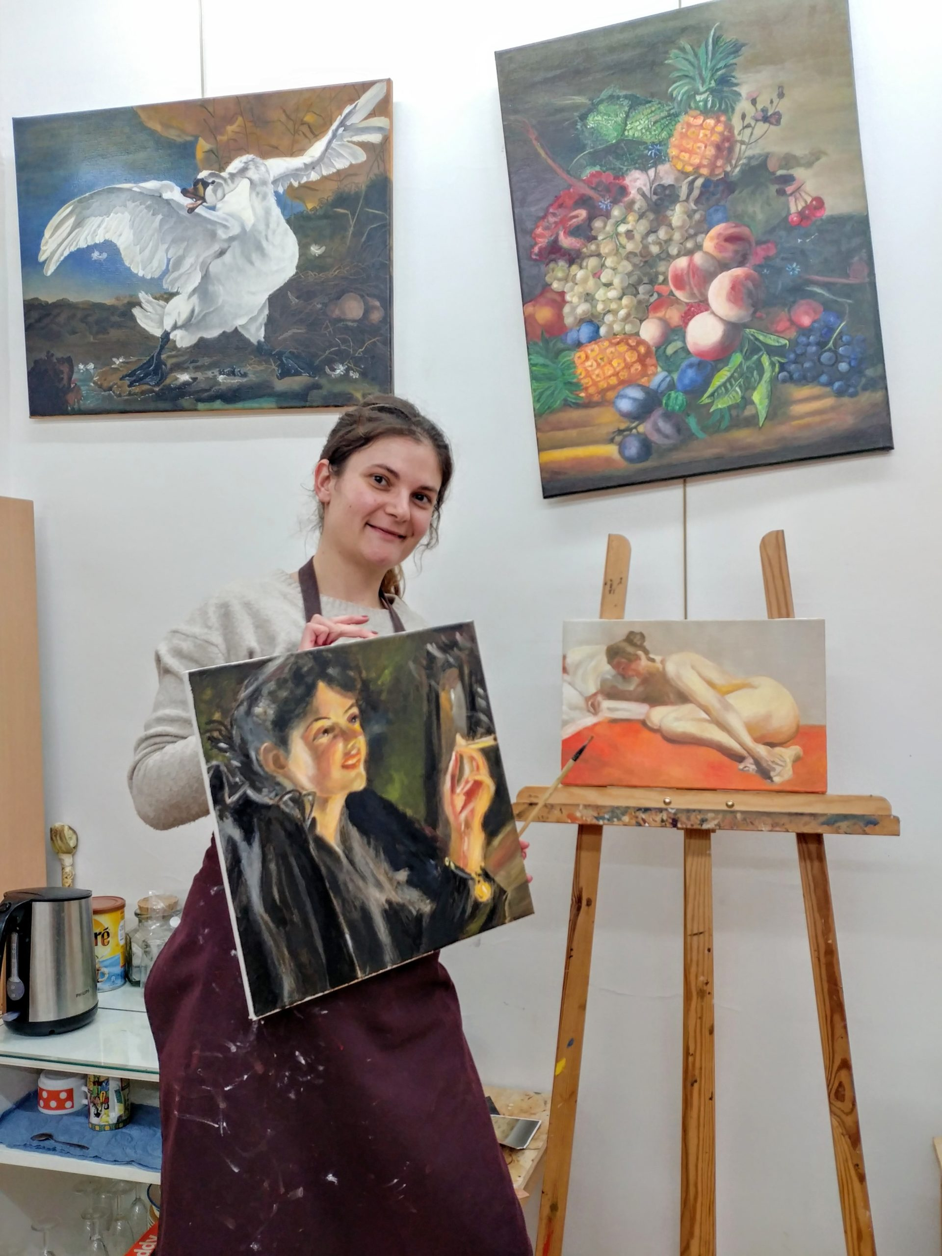 painting workshop paris, painting classes paris, oil painting workshop paris