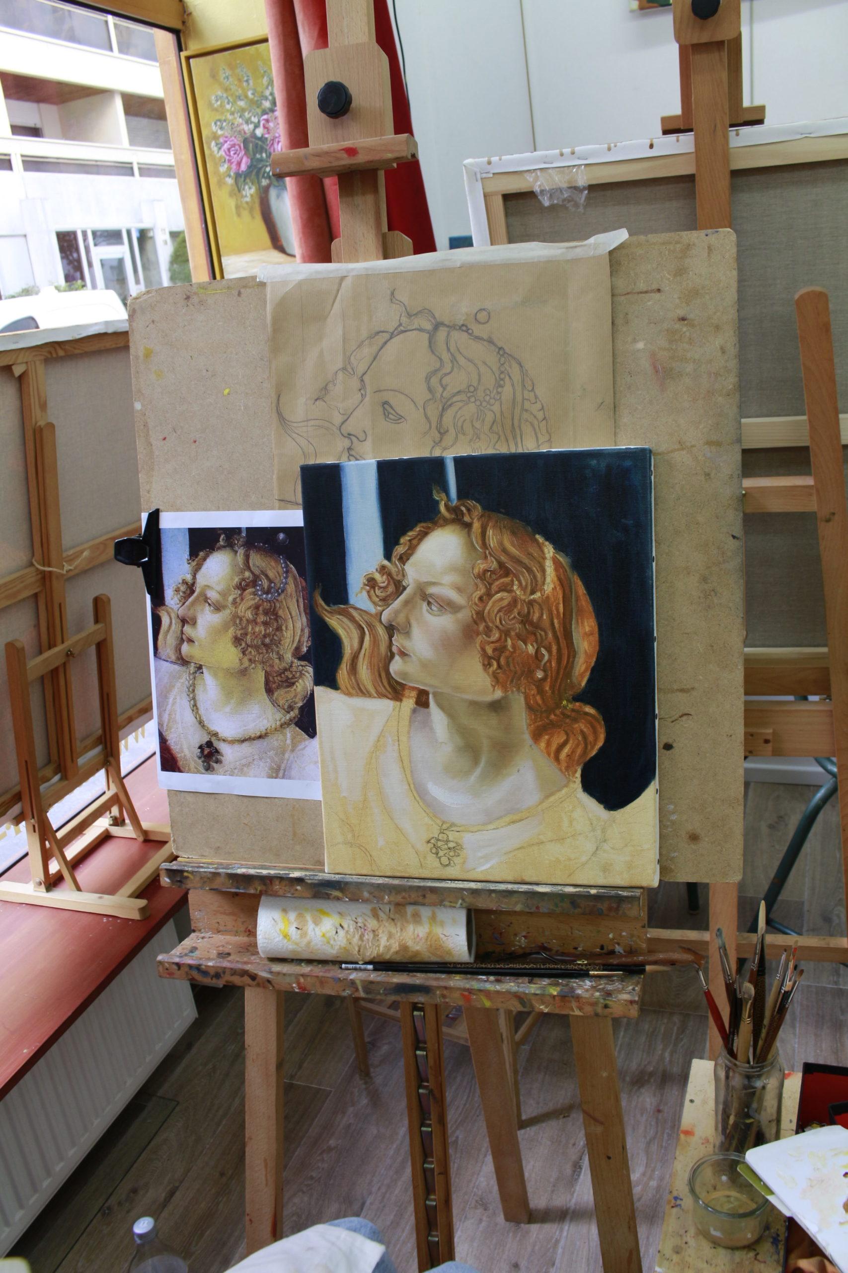 stage de peinture paris